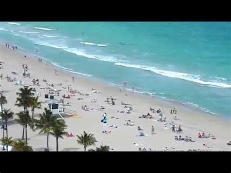 fort lauderdale beach cam youtube