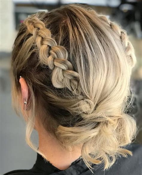 gorgeous prom hairstyles  short hair