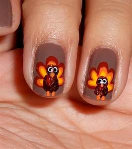 Diy nail art thanksgiving festive designs for your