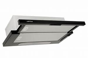 Montage Hotte Tiroir : avis clients pour le produit hotte tiroir airlux ht20h noir ~ Premium-room.com Idées de Décoration