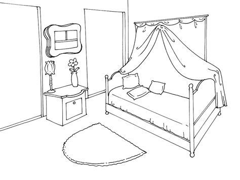 dessin chambre bébé fille coloriage chambre à imprimer