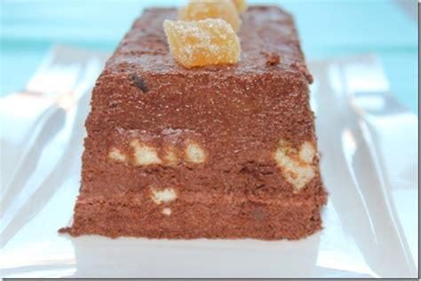 dessert terrine fondante chocolat gingembre les joyaux de sherazade