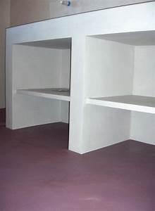faire un meuble salle de bain en beton cellulaire With meuble salle de bain beton cellulaire