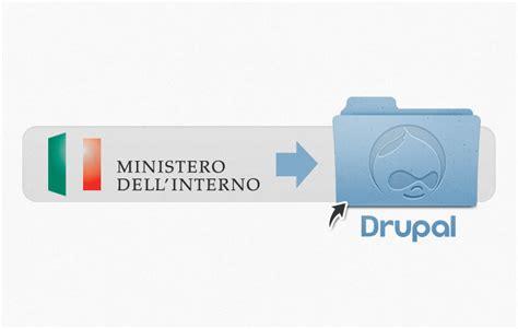 Sito Ministero Interno by Sviluppo Software Siti Web E Web Marketing Wellnet