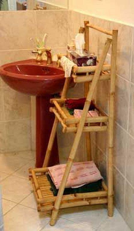 creative bamboo craft design ideas  bathroom