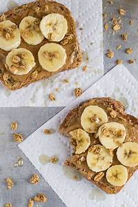 Beurre De Cacahuète En Poudre : tartine beurre cacahuete banane food id e petit d jeuner banane beurre de cacahu te et ~ Melissatoandfro.com Idées de Décoration