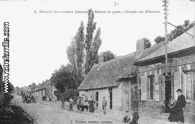 bureau de poste amiens photos et cartes postales anciennes de estrées deniécourt