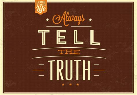 truth vector background