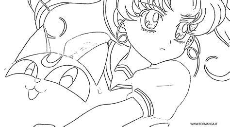 disegni da colorare anime immagini da colorare di sailor moon topmanga anime