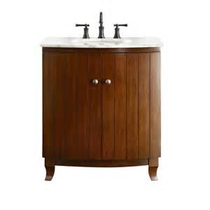 style selections vancleaf 30 in x 22 in mink single sink bathroom vanity with marble top
