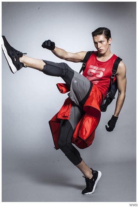 Jullien Herrera & Oli Lacey Get Active in Sporty Styles ...