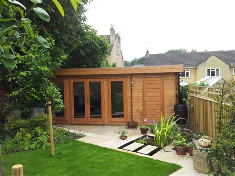 Backyard Log Cabin by Summer House Ideas Search Garden Offices Sheds