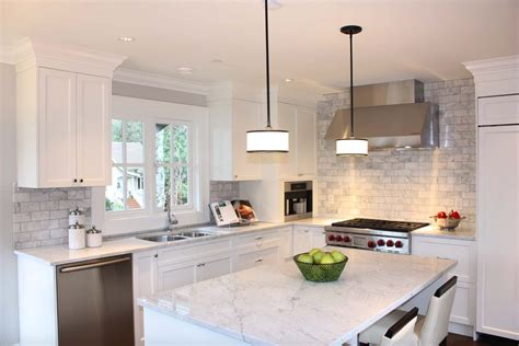 marble tile in kitchen 25 breathtaking carrara marble kitchens for your inspiration 7373
