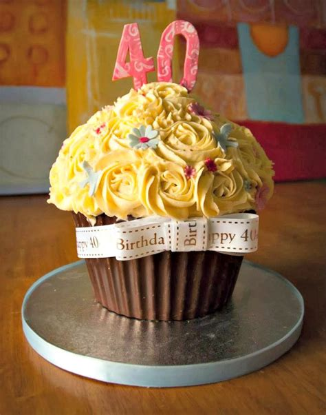 Celebrating your 30th, 40th, 50th, 60th, 70th, 80th, 90th, 100th birthday and beyond. Creative 40th Birthday Cake Ideas - Crafty Morning