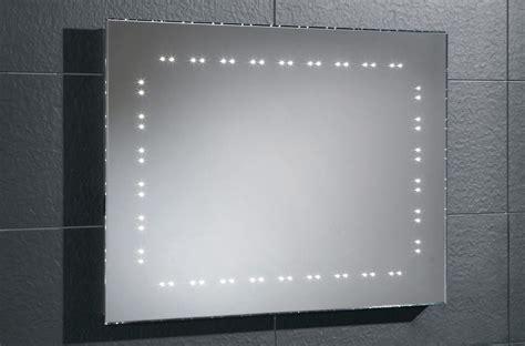 Hib Hannah Bevelled Edge Led Bathroom Mirror 800 X 600mm