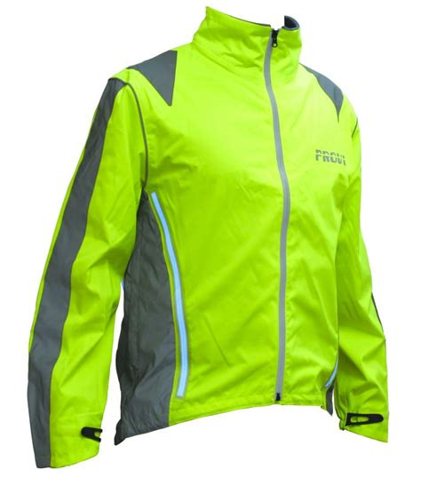 reflective waterproof cycling jacket cycling jacket high visibility waterproof cycling jacket