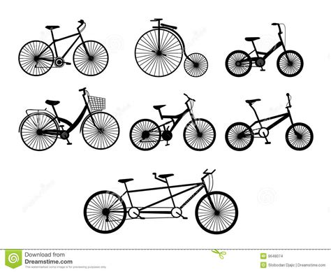 Bicycle Illustration Stock Vector. Illustration Of Clip