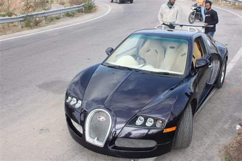 All parts are hand laid fiberglass which makes it lighter and stronger! Gallery: Mini-Me Bugatti Veyron from India!
