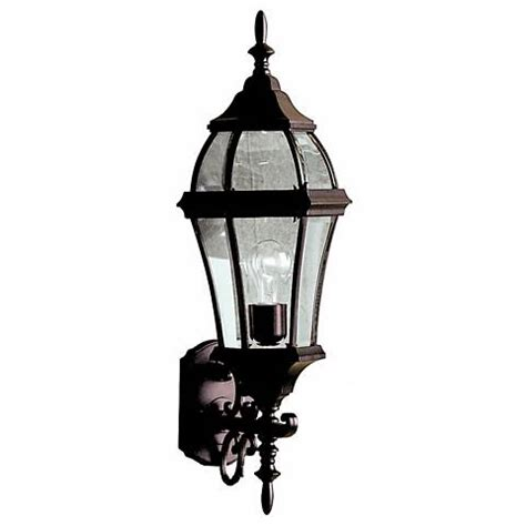 townhouse black 27 quot high outdoor wall light m6203