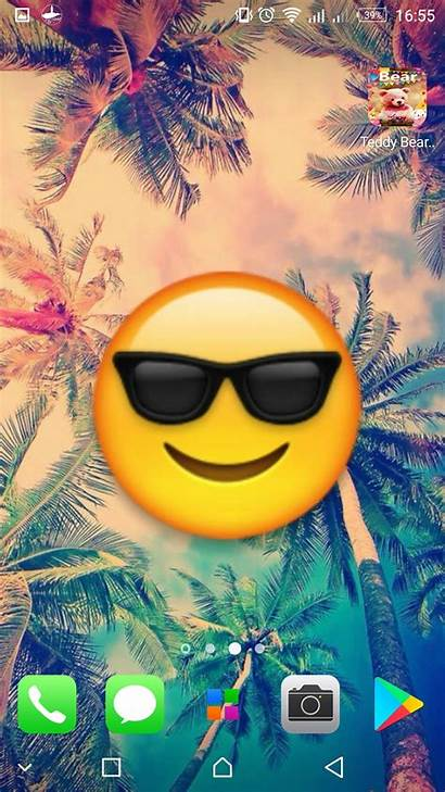 Emoji Wallpapers Backgrounds Background Android Phone Screen