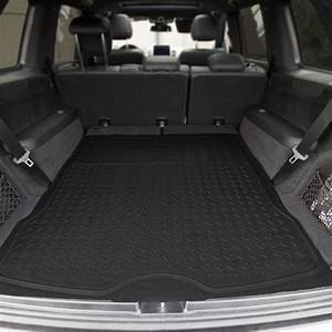 Semi Custom Trimmable Vinyl Trunk Liner    Cargo Mat Black