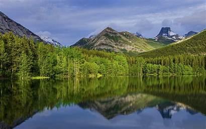 Alberta Canada Lake 4k Desktop Maligne Wallpapers