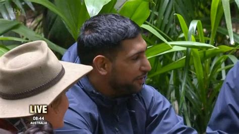 'Is he really this thick?' Amir Khan baffles I'm A ...