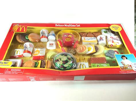 mcdonald deluxe mealtime 50 pieces play set