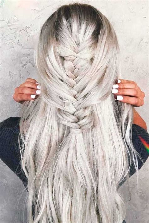 Platinum Color Hair by 50 Platinum Hair Shades And Highlights For 2019