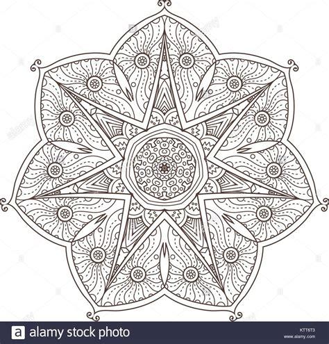 mandala abstrakte dekorativen hintergrund islam arabisch