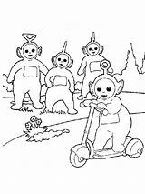 Teletubbies Coloring Pages Things Favorite Templates Coloring2print Template sketch template