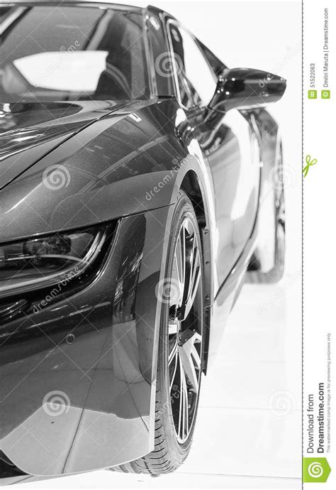 Part Of Sports Car Model Stock Image Image Of Luxury