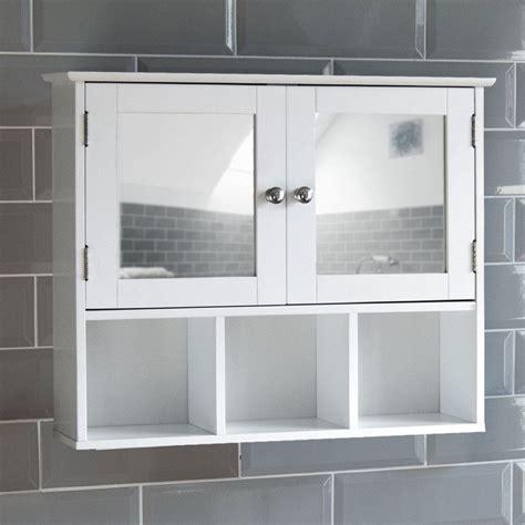 Mirror Bathroom Wall Cabinet by Bathroom Mirror Cabinet Door Shelves Wall