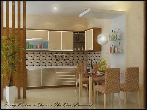 desain interior dapur rumah minimalis modern cat rumah