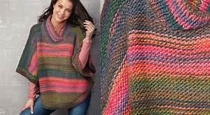 Pancho Vetement Femme : le poncho multicolore en jersey prima ~ Preciouscoupons.com Idées de Décoration