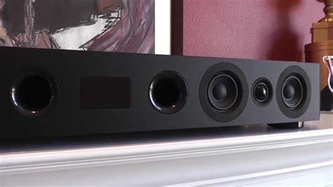 speakercraft cs soundbar  built  subwoofer review