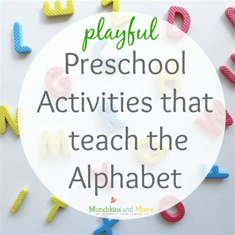17 Best Images About Preschool  Letter Recognition & Writing Activities On Pinterest The