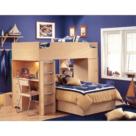 loft bed with desk loft bed with desk casual cottage