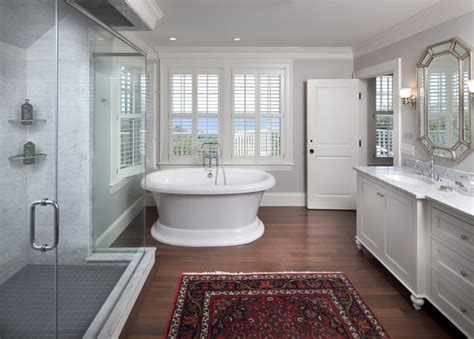 shades  gray traditional bathroom boston