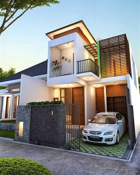 desain rumah modern  minimalis arcadia desain