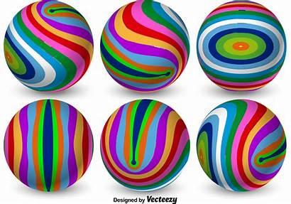 3d Colorful Spheres Vector Graphics Clipart Vectors