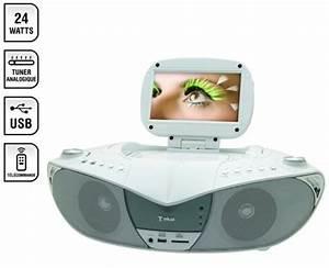 Lecteur Dvd Portable Conforama : lecteur de cd et dvd avec cran 7 pouces tuner tnt et ~ Dailycaller-alerts.com Idées de Décoration