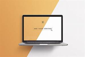 free, macbook, pro, laptop, mockup, , psd