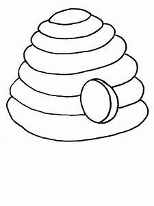 Beehive Outline - ClipArt Best