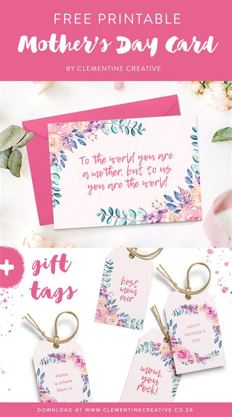 surprise mom   beautiful mothers day card gift