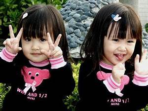 Cute baby girl twins  Funny & Amazing Images
