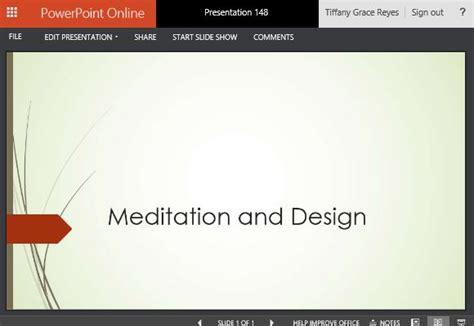 elegant wisp themed powerpoint  template