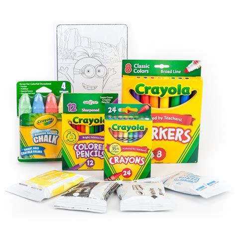 amazon com crayola minions creativity tub toys games