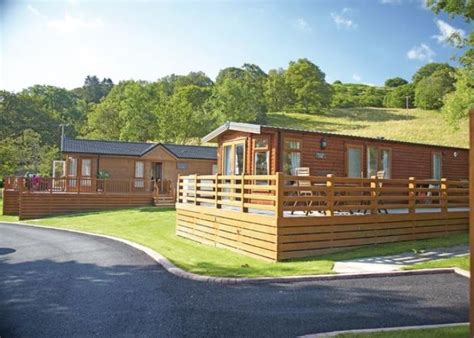 Log Cabins With Tubs Wales by Class Pen Y Garth Lodges Bala Wales