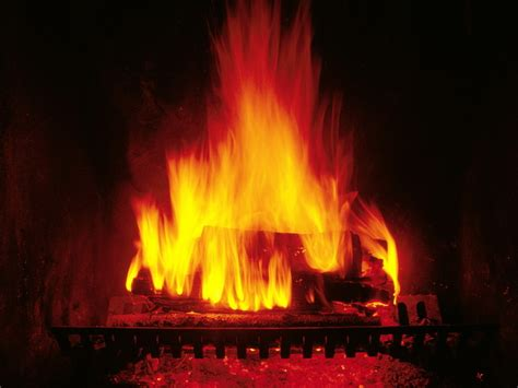 crackling fireplace christmas wallpaper  fanpop